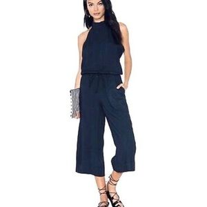 Cloth and stone high neck jumpsuit.